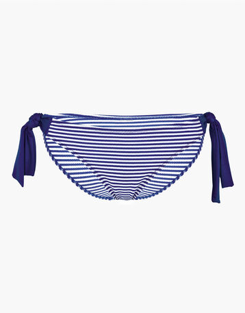 Bas de maillot  de bain nouette rayé bleu Femme-DIM