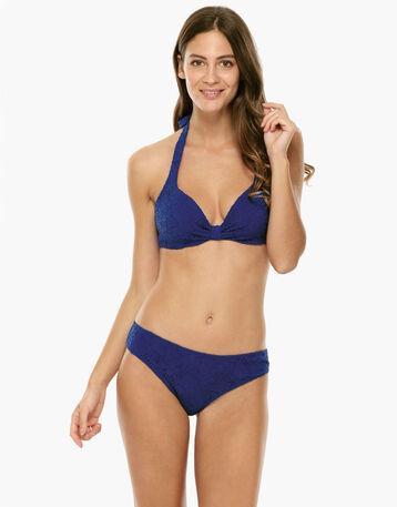 Bas de maillot de bain bleu électrique Femme-DIM