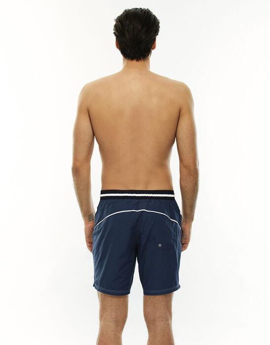 Short de bain mi-long bleu jean, , LOVABLE