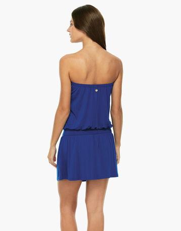 Robe de plage bleu électrique Femme-DIM