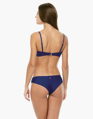 Haut de maillot de bain bleu électrique Femme-DIM