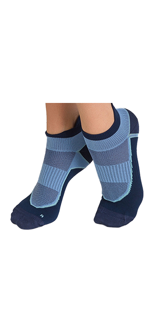 Socquettes courtes impact fort Femme Dim Sport