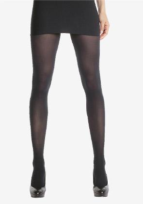 Collant noir opaque velouté Style 50D