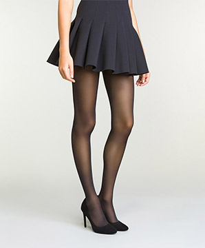 Collant Opaque Noir pour femme DIM Perfect