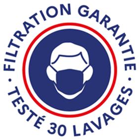 FILTRATION GARANTIE - TESTÉ 30 LAVAGES