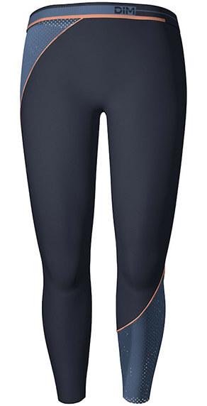 Legging de sport femme bleu intense DIM Sport