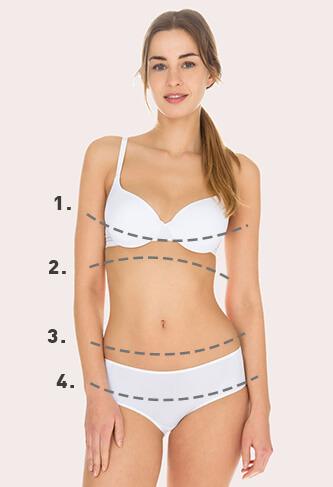 Guide des tailles lingerie femme - Dim.fr 8d99ff92e