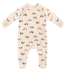 Pyjama bébé imprimé léopard rose DIM Baby