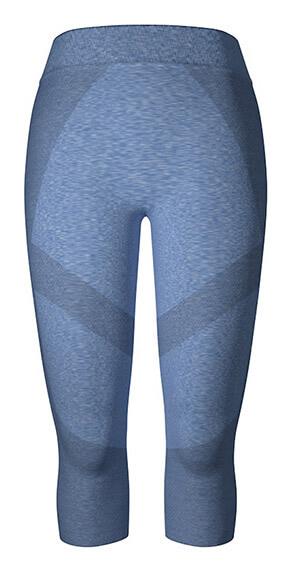 Legging sport femme bleu antique chiné Dim Sport