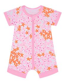 Barboteuse bébé étoile rose DIM Baby