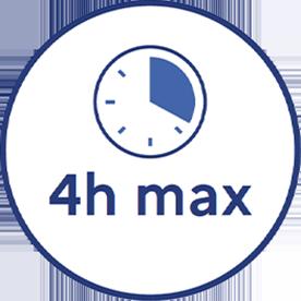 4h max