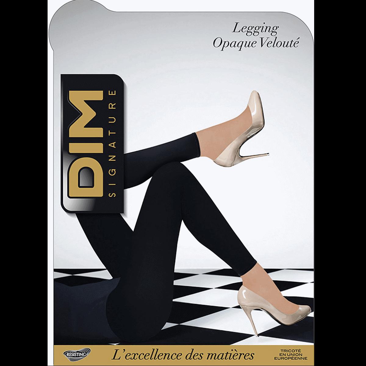 5916e0e31d030 Legging noir DIM SIGNATURE Opaque Velouté 60D