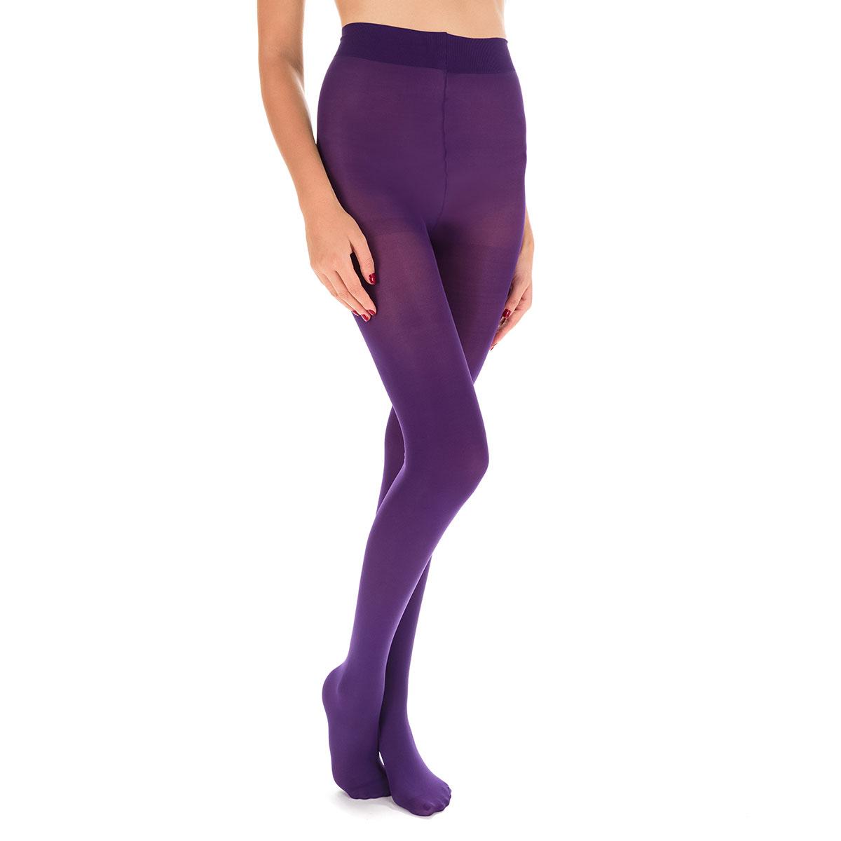 Collant ultra violet opaque velouté Style 50D