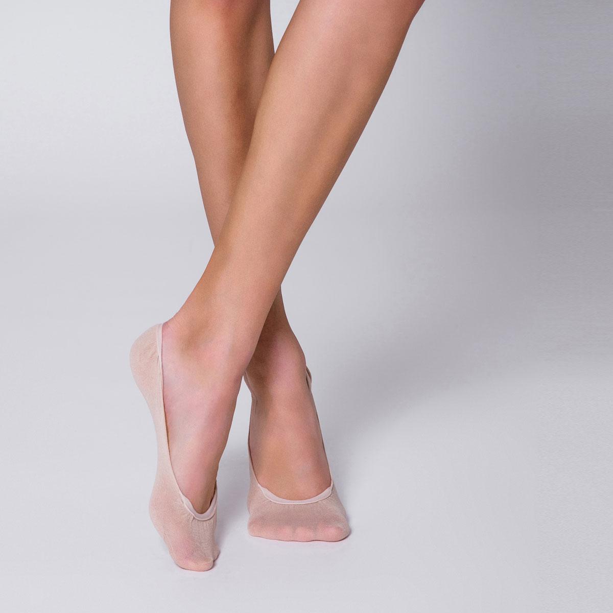 Protège-pied naturels spécial ballerine en silicone