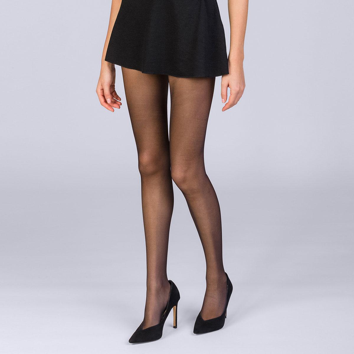 Collant Sublim Contouring noir 17D Femme