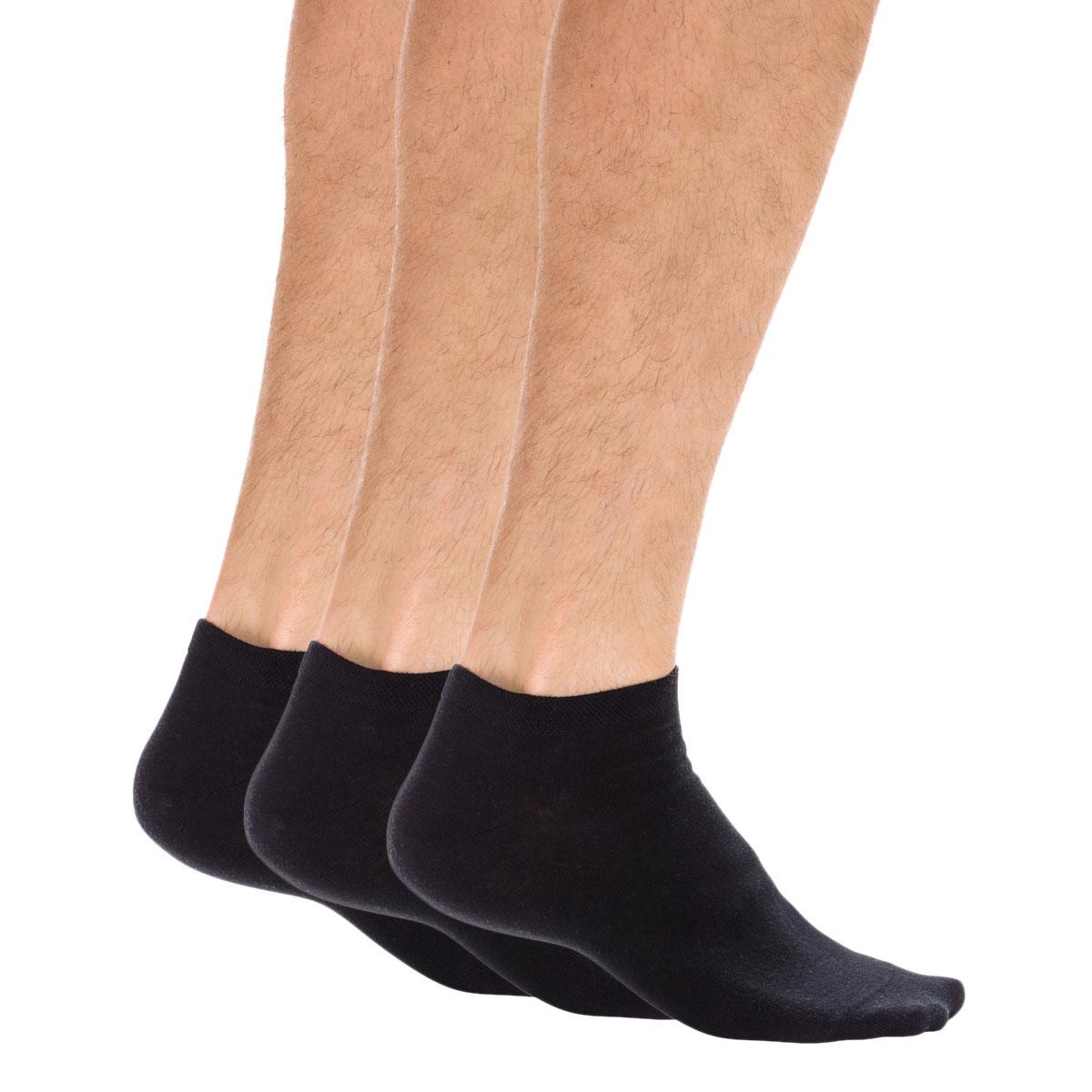 Lot de 3 paires de socquettes invisibles - DIM - Modalova