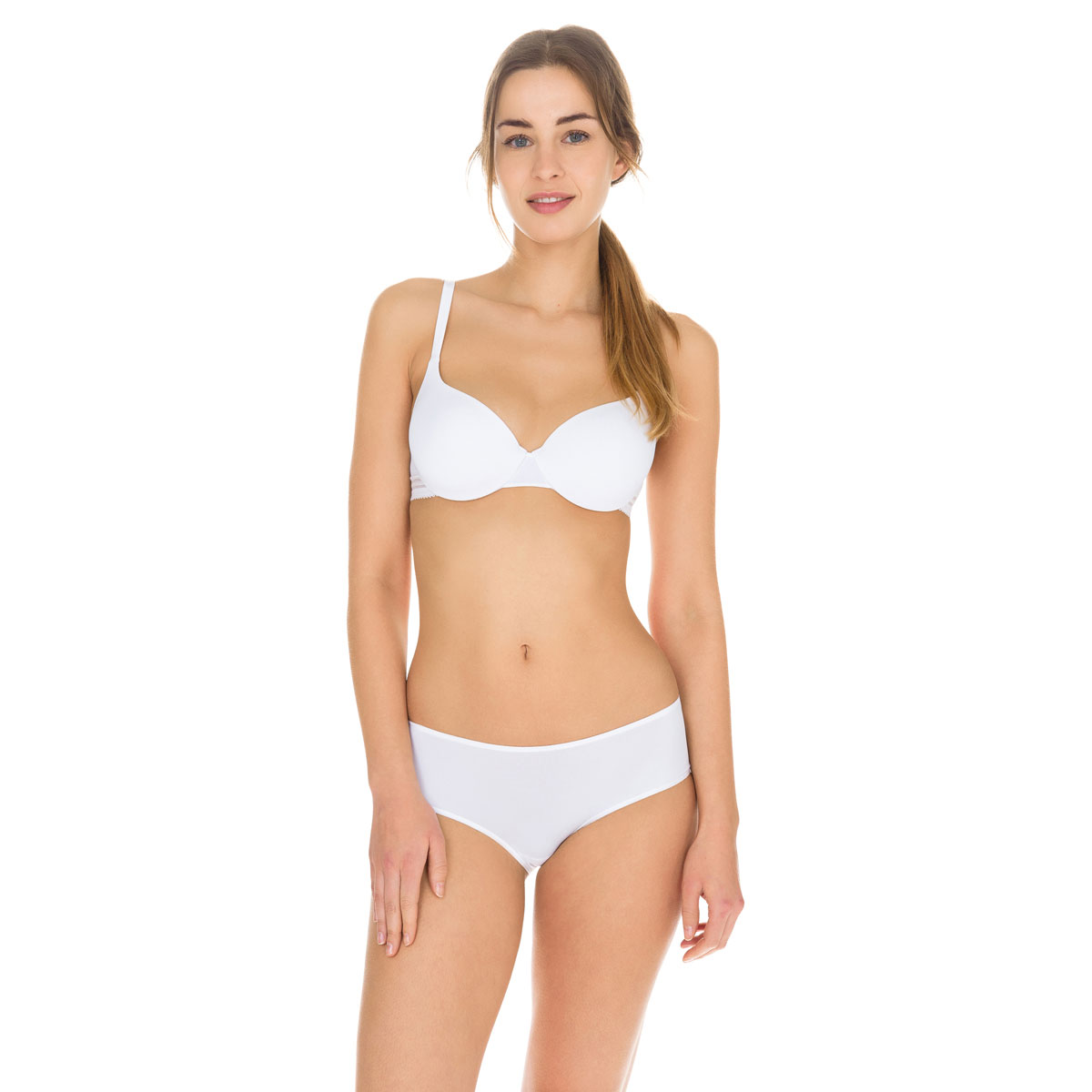 Shorty blanc Invisi Fit seconde peau