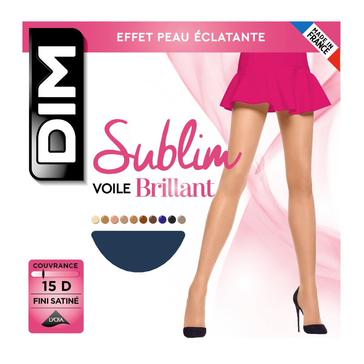 Collant Sublim Voile Brillant 15D - DIM - Modalova