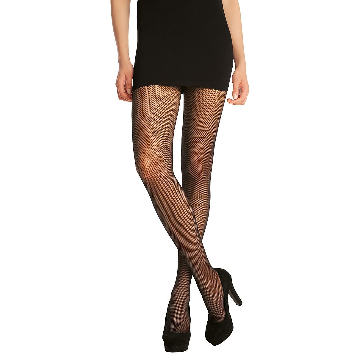 Collant noir Résille 73D Madame so Fashion