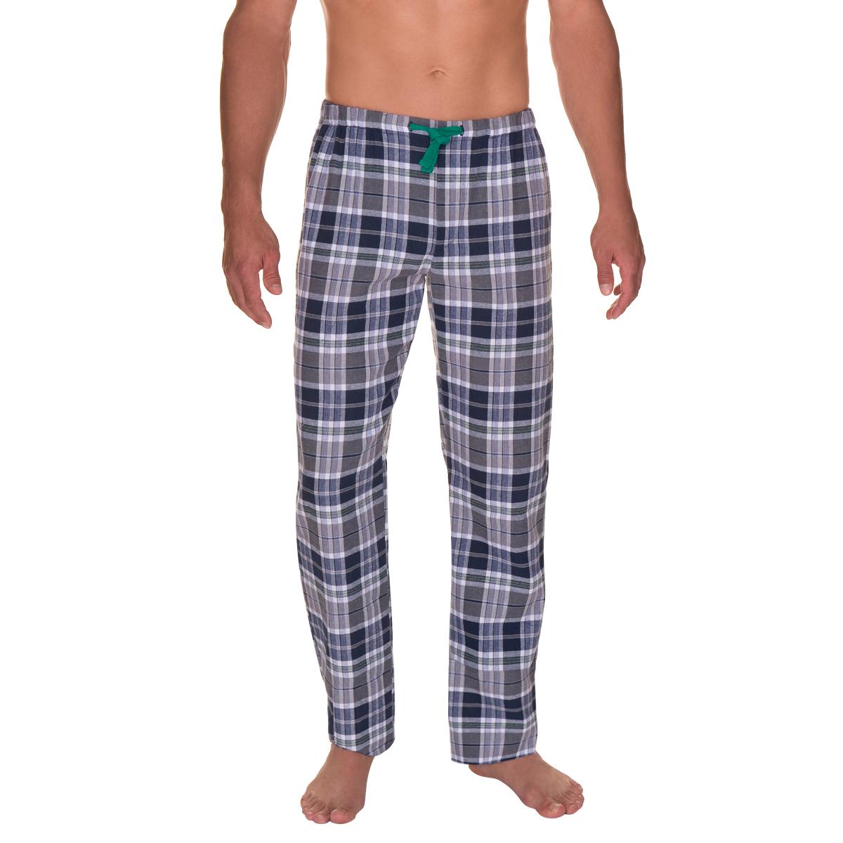 pantalon de pyjama bleu nuit imprim carreaux homme. Black Bedroom Furniture Sets. Home Design Ideas