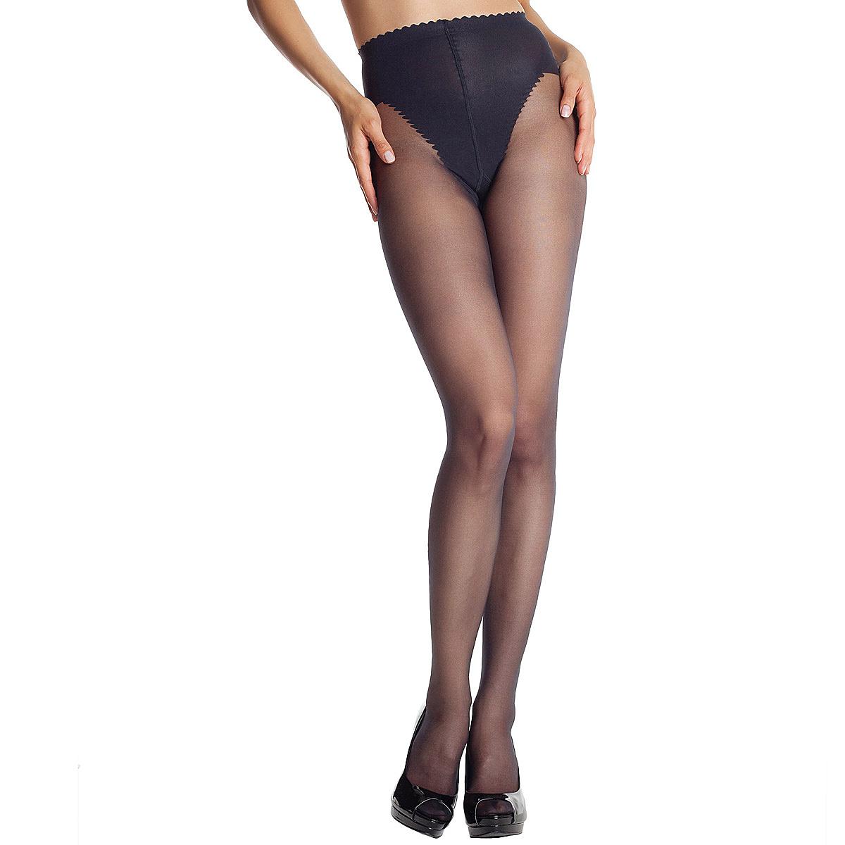 Collant noir Body Touch Ventre Plat 20D