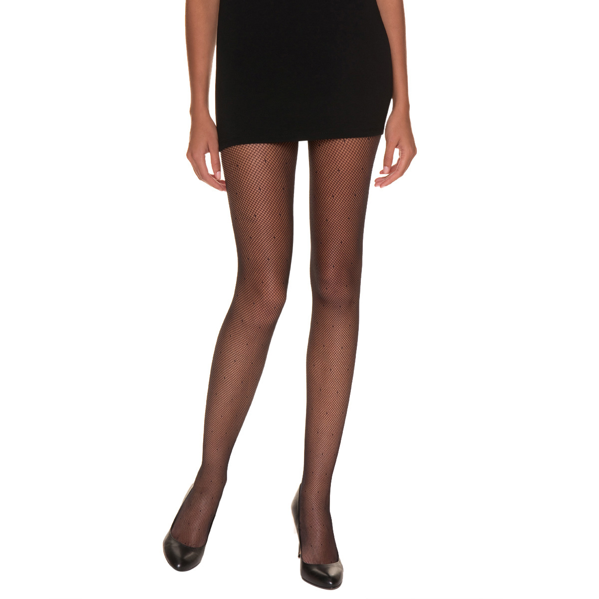 Collant So Sexy résille plumetis noir 65D