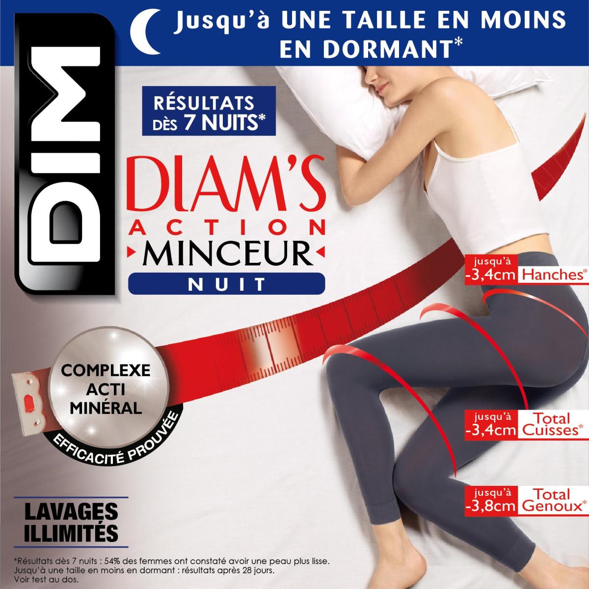 51aae7618caa4 Ref 012G. https   www.dim.fr p legging-diams-gris-fonce-action-minceur-nuit- 80d D012GE1-2ZL.html