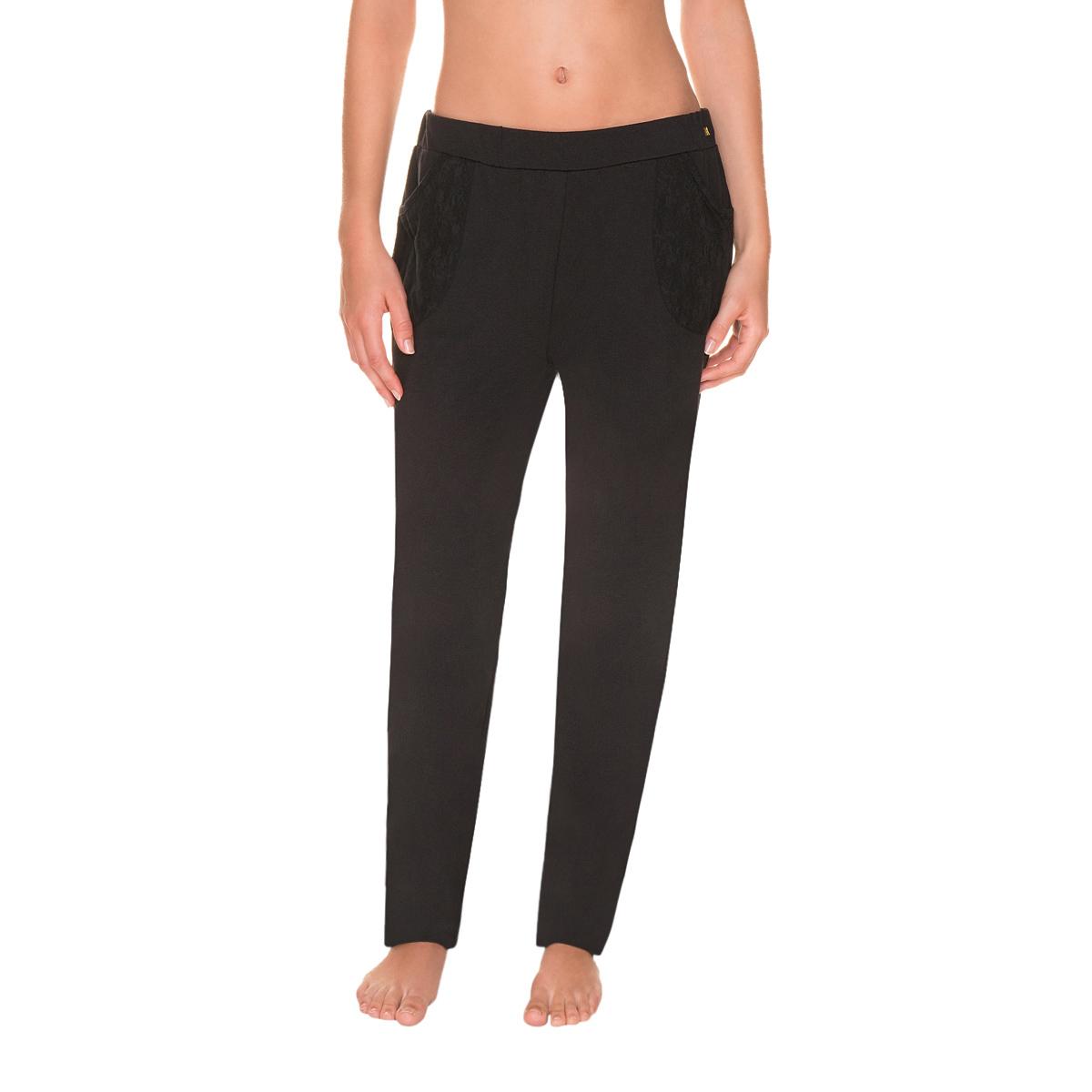 Pyjama Noir Pantalon Pantalon De Femme Pyjama Femme De Noir Ygyf6v7mIb