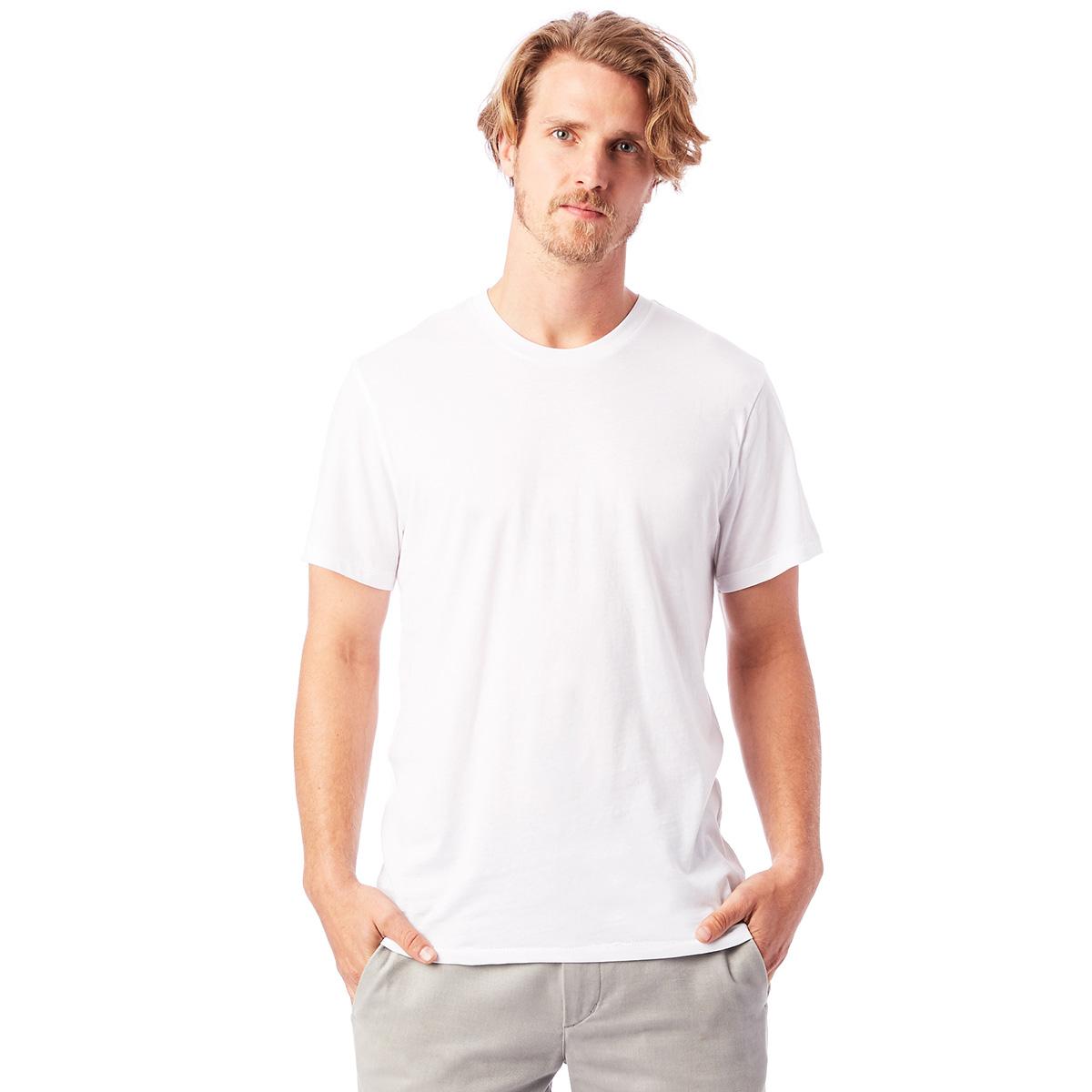 T-shirt 100% coton bio manches courtes blanc Homme