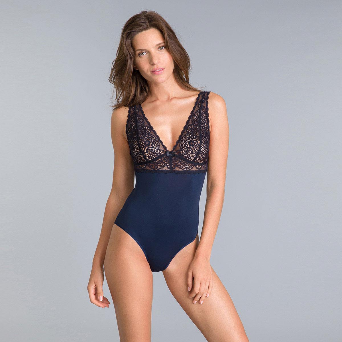 Body bi-color bleu et noir Sublim Mod de Dim