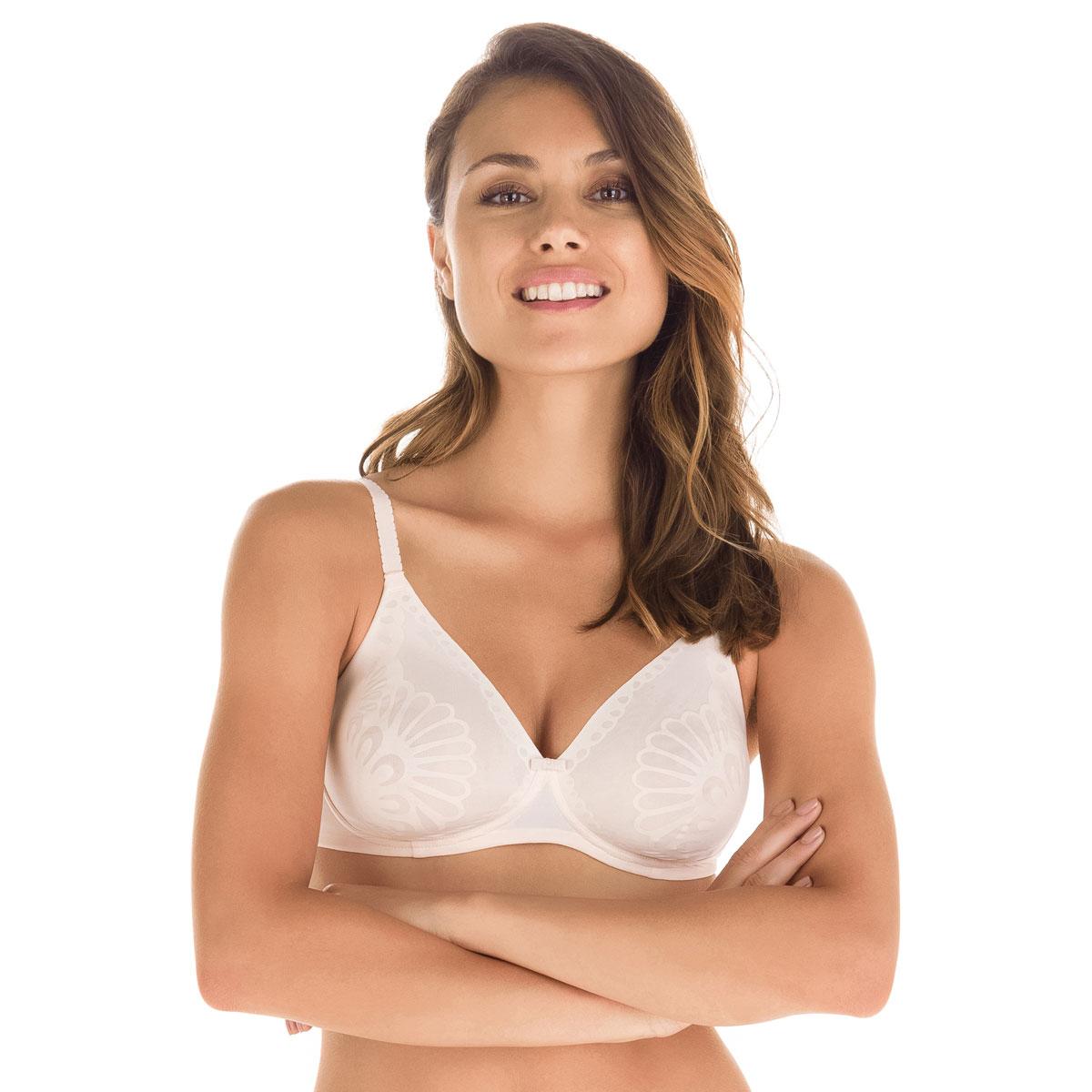 Soutien-gorge rose ballerine sans armatures Nude Support