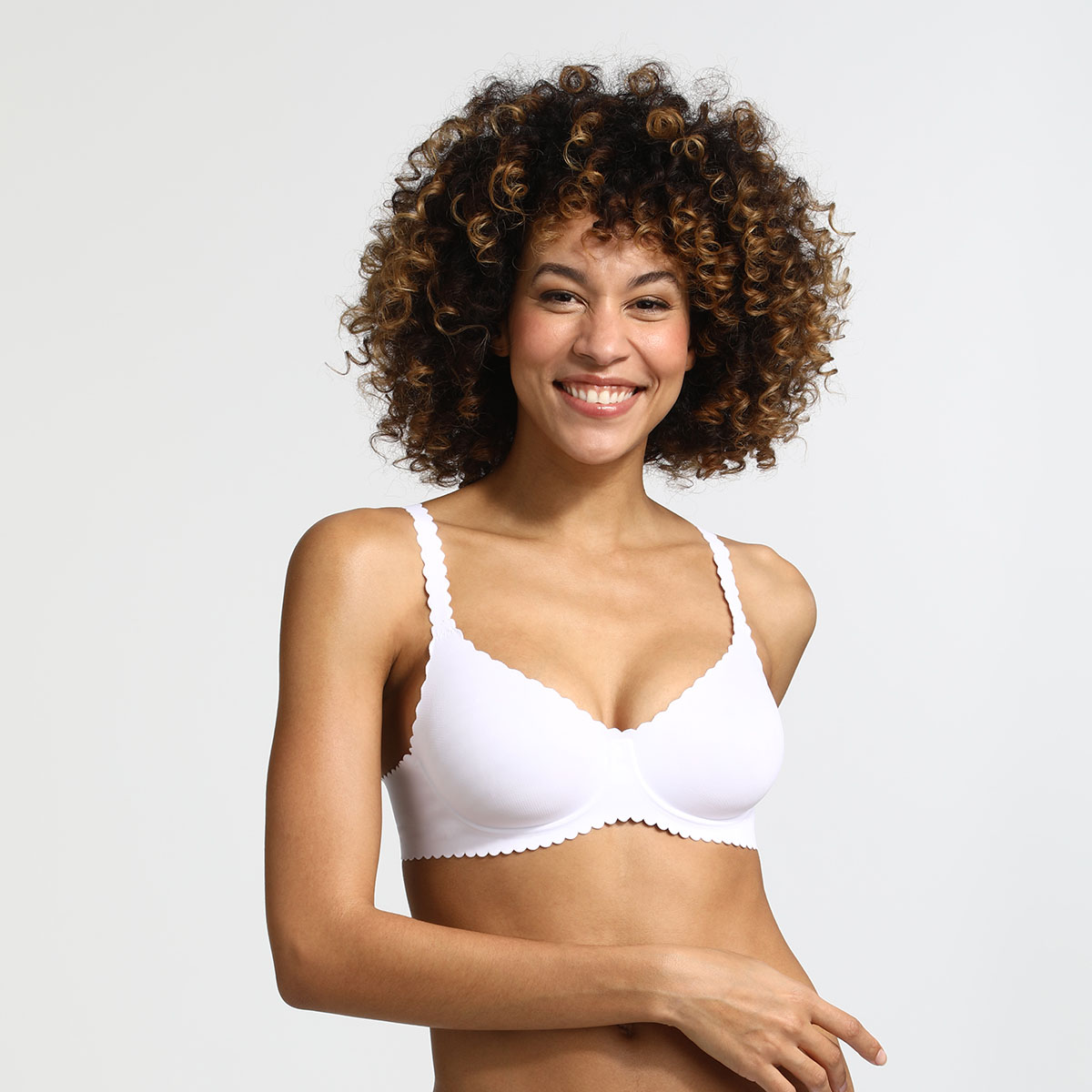 Soutien-gorge blanc Body Touch - D - Modalova