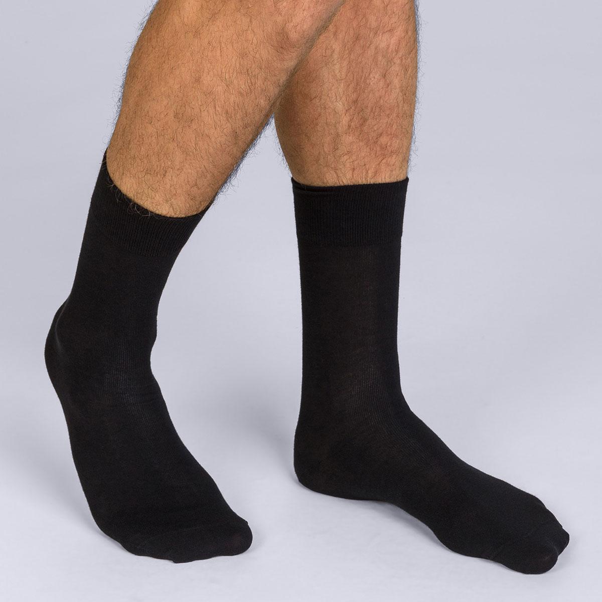 mi chaussettes classique x2 noir homme x temp. Black Bedroom Furniture Sets. Home Design Ideas