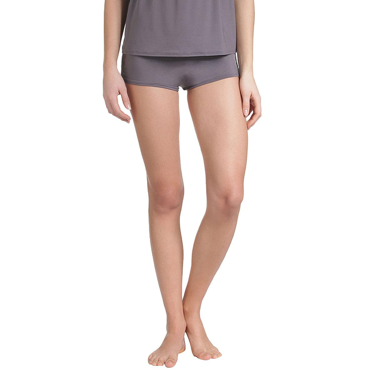 Shorty de pyjama gris taupe Femme