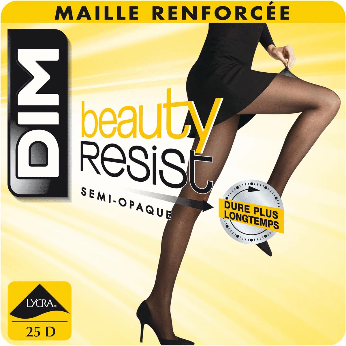 Collant Beauty Resist caramel Semi-opaque 25D dd52e796291