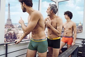 Mix & Colors : des boxers colorés pour homme à découvrir sur DIM.fr
