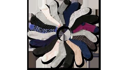 Lots de chaussettes pour femme sur dim.fr : 3 achetées, la 4ème offerte