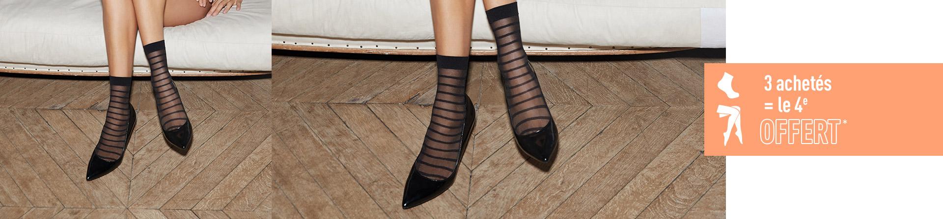 845f060ec3f Toutes les chaussettes pour Femme