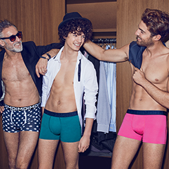 Découvrez les boxers, slips, caleçons et chaussettes homme sur dim.fr
