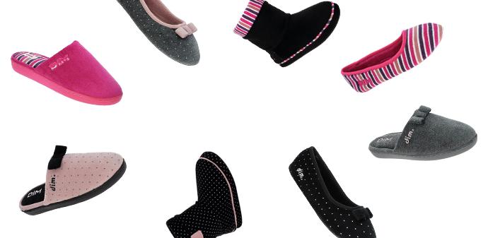 Laissez-vous tenter par les chaussons pour femme sur dim.fr