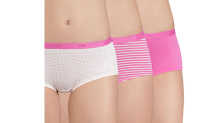 Laissez-vous tenter par les boxers roses pour femme sur dim.fr