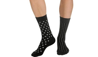 Lots de chaussettes pour homme sur dim.fr : 3 achetées, la 4ème offerte
