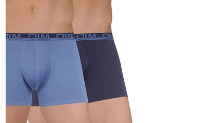Découvrez les boxers DIM en coton pour homme et choisissez votre préféré