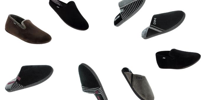 Laissez-vous tenter par les chaussons pour homme sur dim.fr