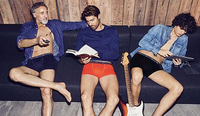 Des sous-vêtements confortables et tendances en coton stretch sur dim.fr