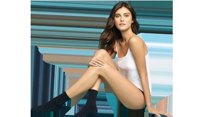 Découvrez toutes les chaussettes noires pour femme sur dim.fr