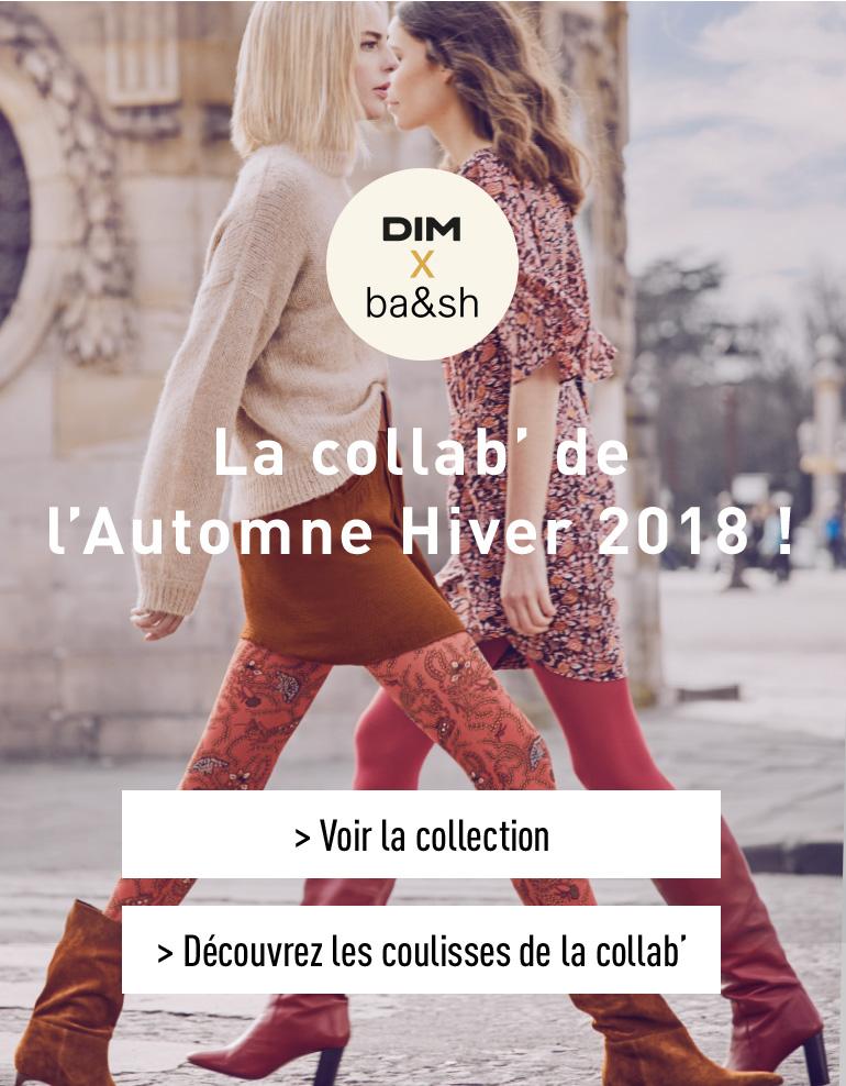Dim X Bash - La collab' de l'Automne-Hiver 2018 !