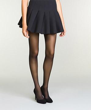 Collant Noir Transparent pour femme DIM Perfect Contention 25D