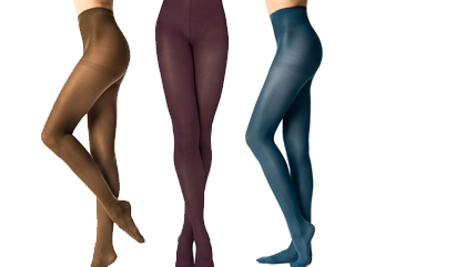 Egayez vos jambes avec les collants colorés pour femme sur dim.fr