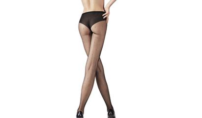 Habillez vos jambes avec les collants effet plumetis DIM pour femme
